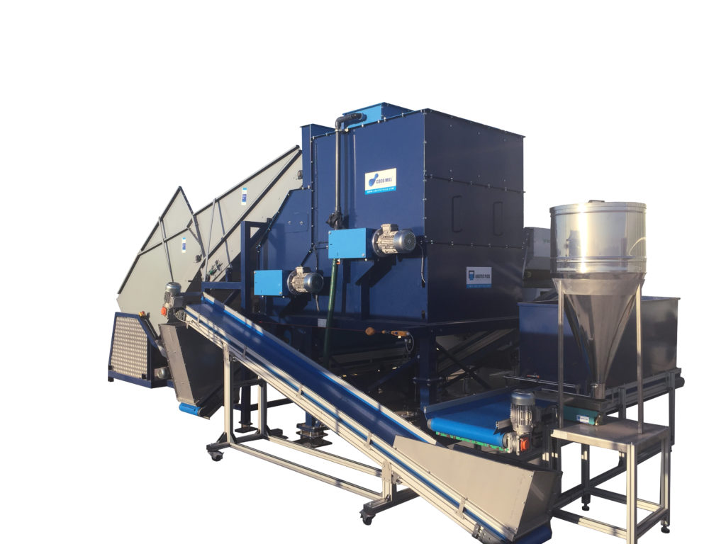 Coco Mill - CM200 pallet infeed